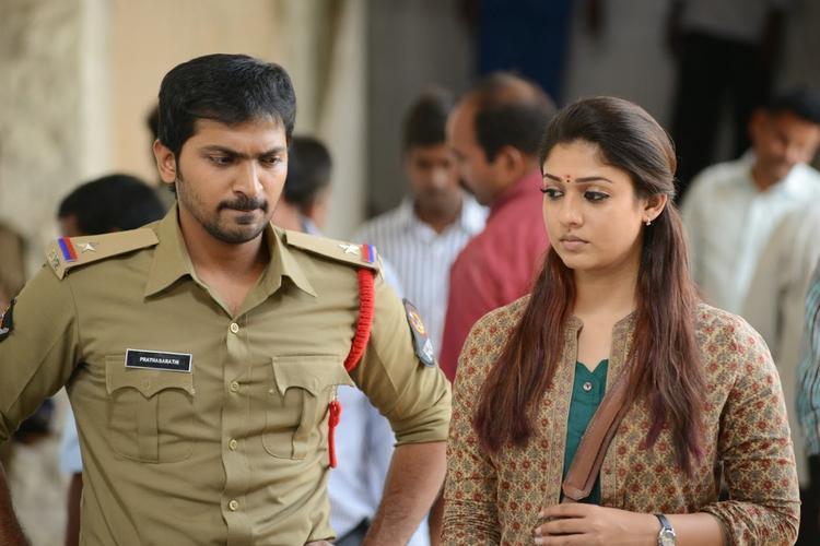 Vaibhav Reddy And Nayantara In Anamika Tamil Movie