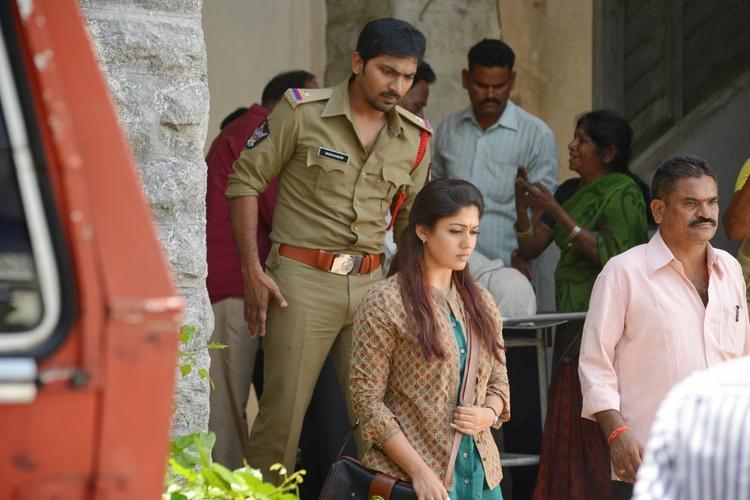 Vaibhav Reddy And Nayantara A Still From Anamika Tamil Movie