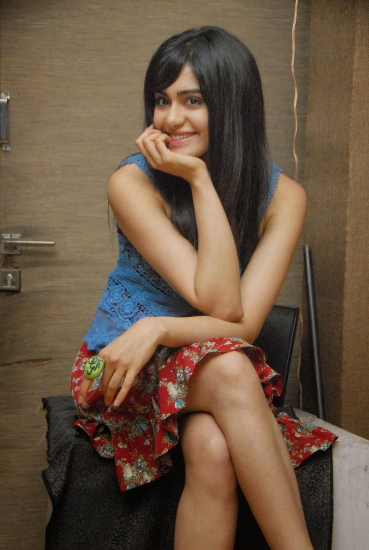 Adah Sharma Smiling Pose Photo Shoot Still