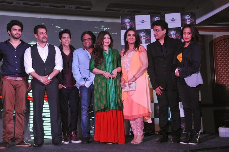 Superstar Salman And Singers Launches Budding Singer Armaan Malik's Debut Music Album In Mumbai