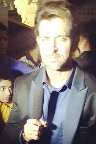 Hrithik Roshan Dazzling Face Look At The Wedding Of NRIs Gaurav And Hina In Udaipur