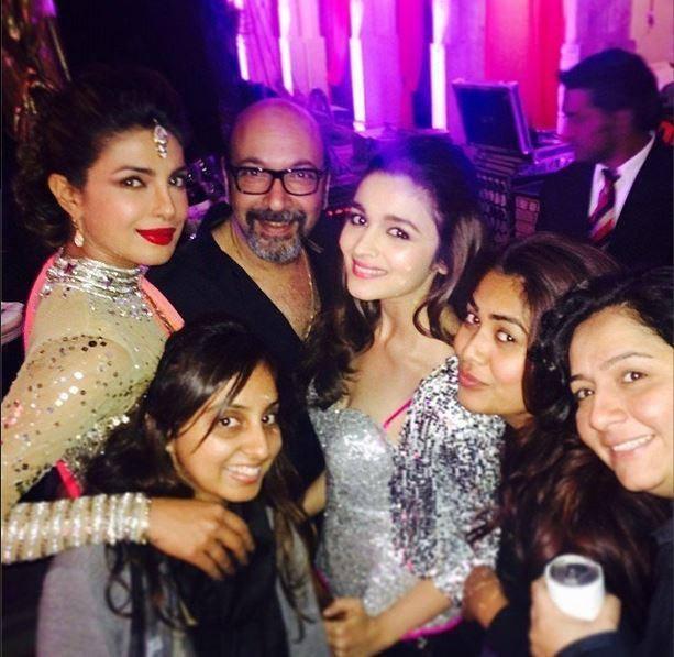 Priyanka Chopra And Alia Bhatt Snapped At The Wedding Of NRIs Gaurav And Hina In Udaipur