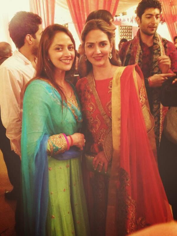 Ahana Deol's Wedding Celebrations Begin Ahana And Esha Beautiful Pic