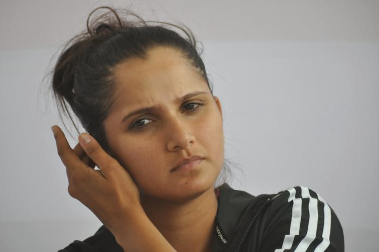 Sania Mirza Nice Look During The Inaugural Press Conference Of Cancer Crusaders Invitation Cup