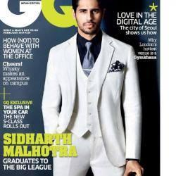 Style Icon Sidharth Malhotra On The Cover Of GQ India's February 2014 Issue