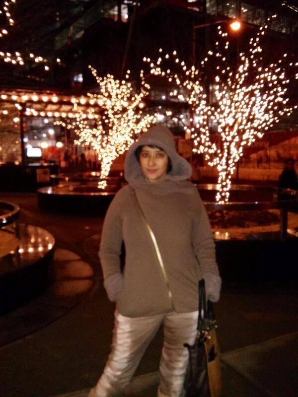 Manisha Koirala Nice Pose For Camera At NYC