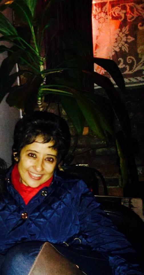 Smiling Manisha Koirala Dazzling Look At NYC
