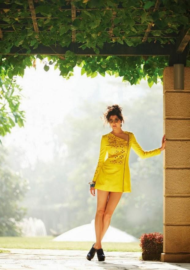 Anushka Sharma Fashionable Hot Look Shoot For Filmfare Magazine February 2014 Issue