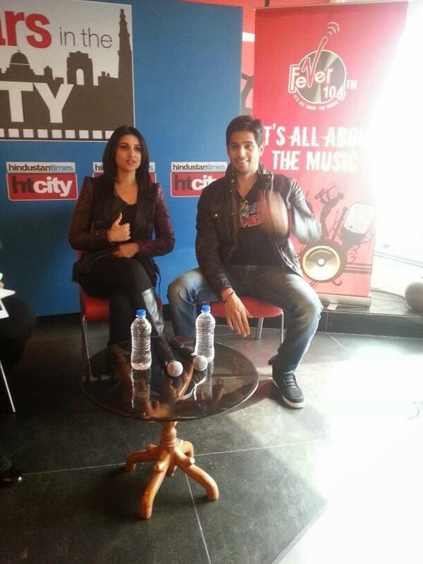 Sidharth And Parineeti Promote Hasee Toh Phasee In Delhi