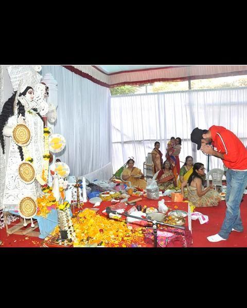 Ranbir Kapoor Attend Anurag Basu's Saraswati Puja In Mumbai