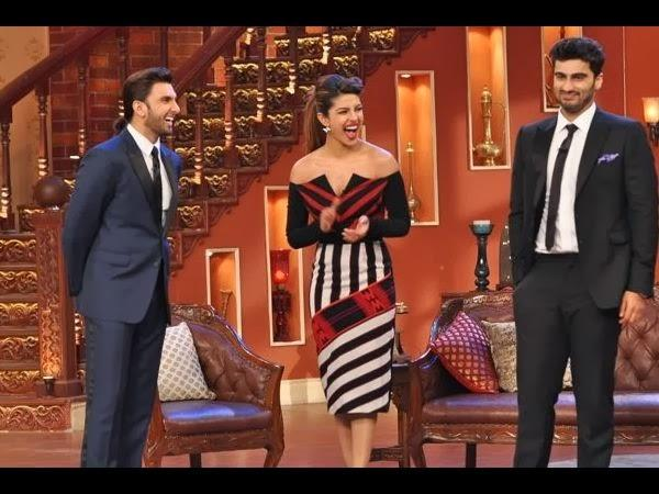 Gunday Trio Laugh Out Loud With Kapil Sharma, The King Of Comedy