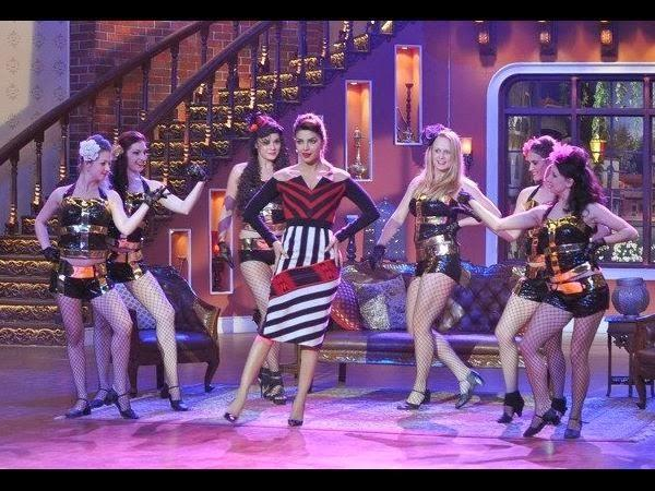 Priyanka Chopra Performs On Reality Show K9 With Kapil