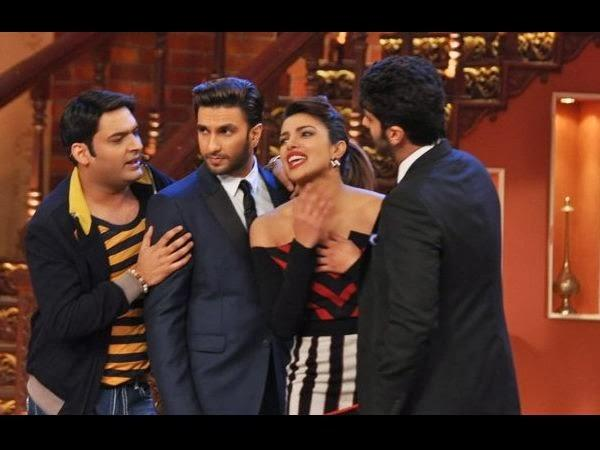 Priyanka Has Teamed Up With Ranveer And Arjun For A Film For The First Time