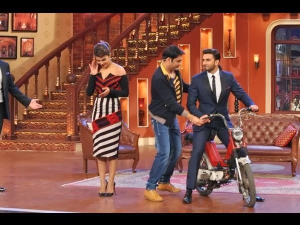 Ranveer And Kapil Fun Audiance In This Reality Show During Gunday Promotion