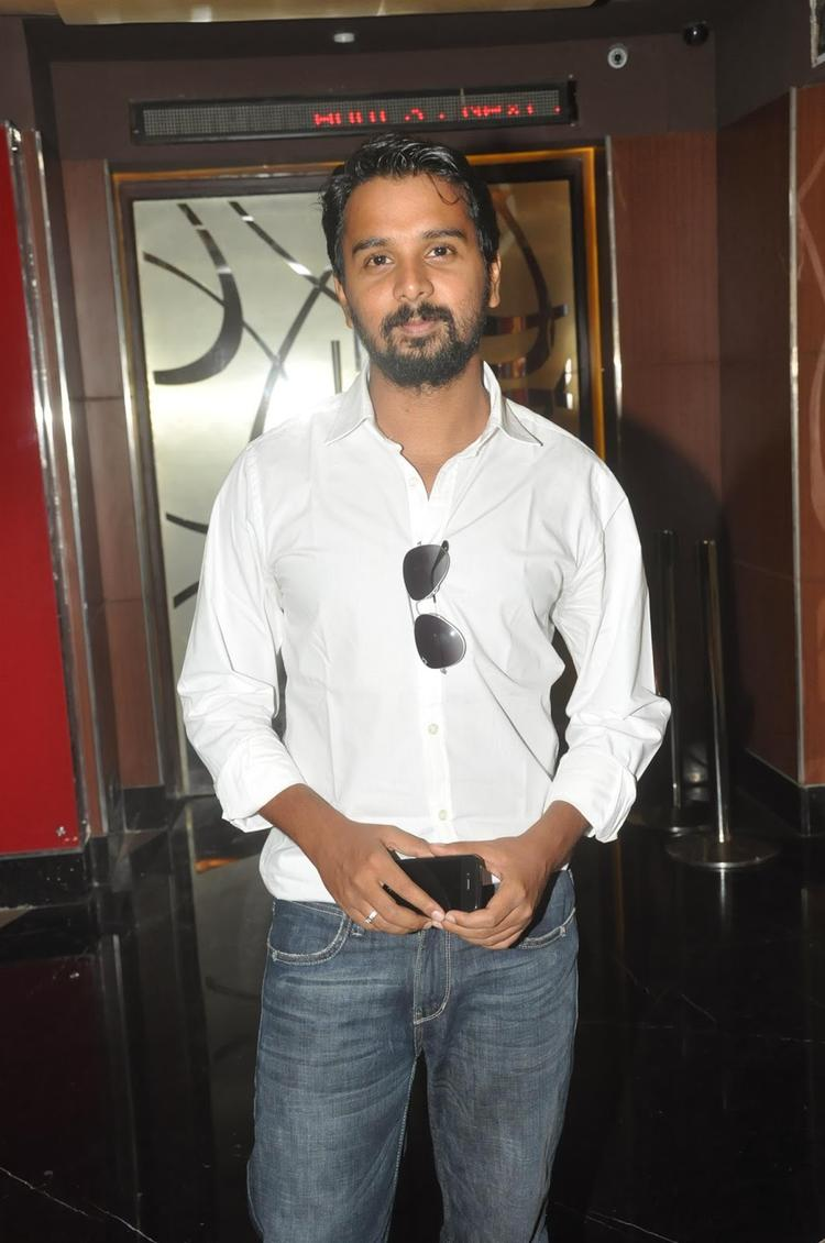Namit Das Ankhon Dekhi Trailer Launch Sweet Smile Photo