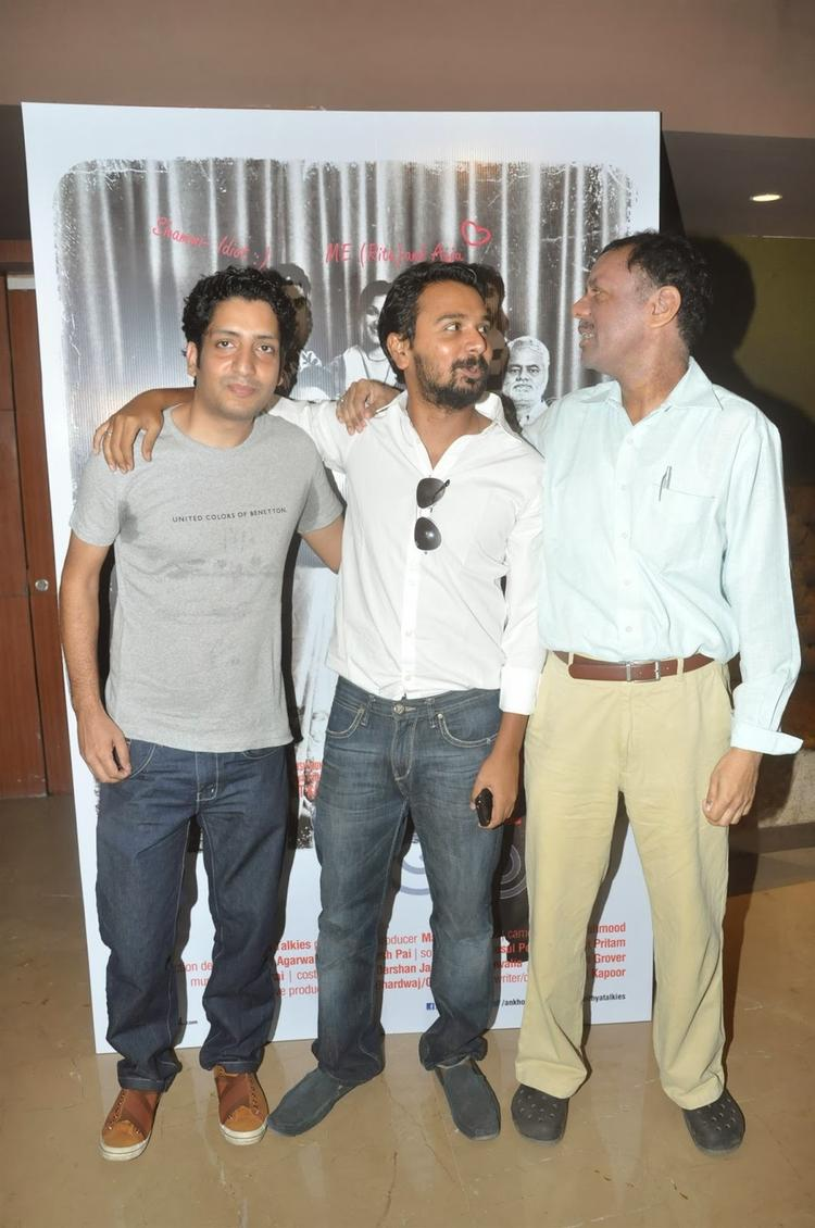 Namit Das With Others Attend The Trailer Launch Of Film Ankhon Dekhi