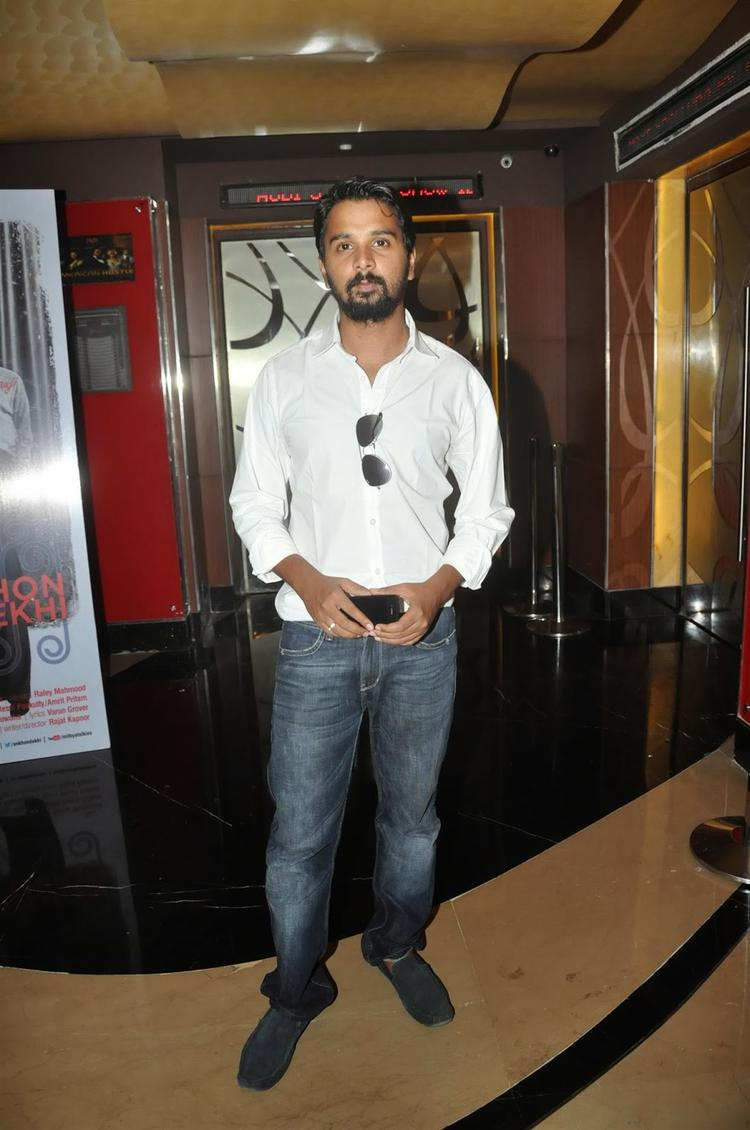 Namit Das Snapped At The First Look Launch Of The Film Ankhon Dekhi