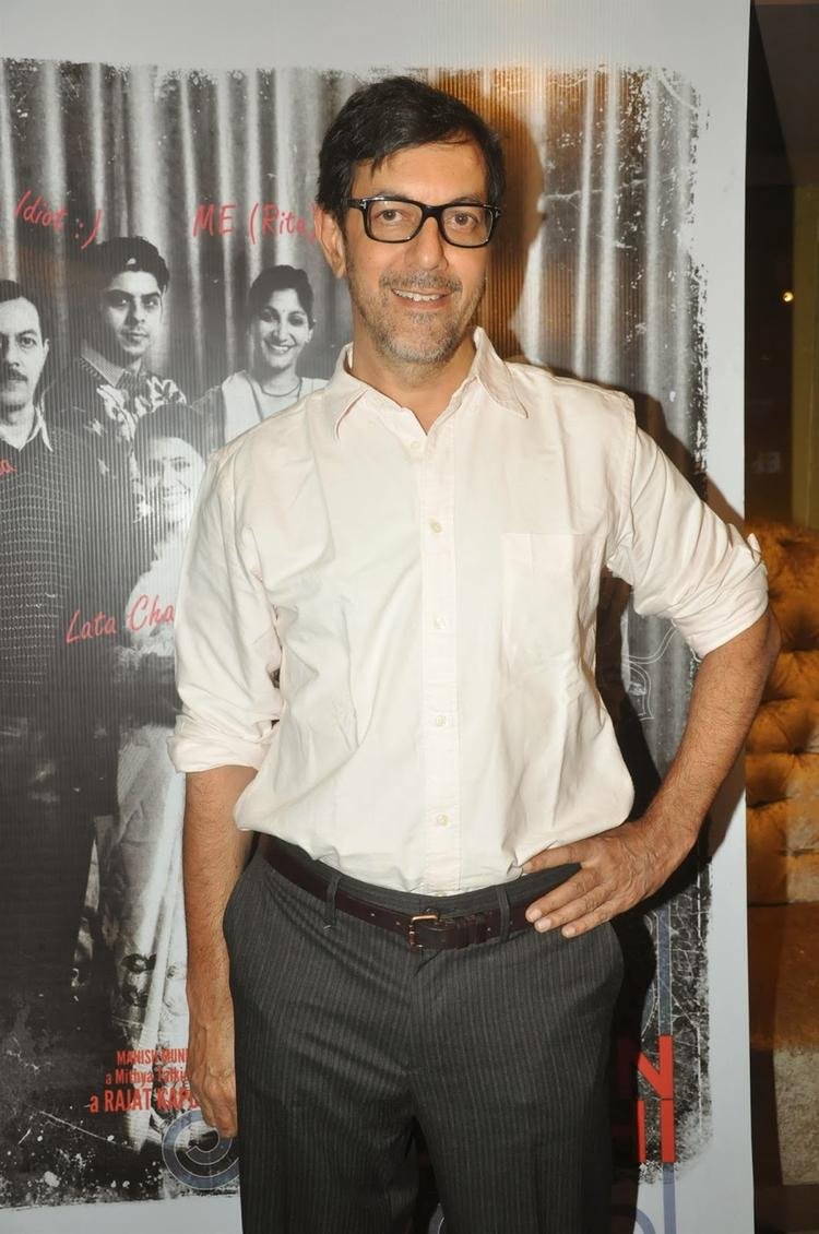 Rajat Kapoor Nice Pose During The First Look Launch Of Film Ankhon Dekhi