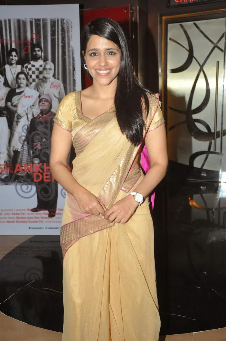 Taranjit Kaur At The First Look Launch Of Film Ankhon Dekhi