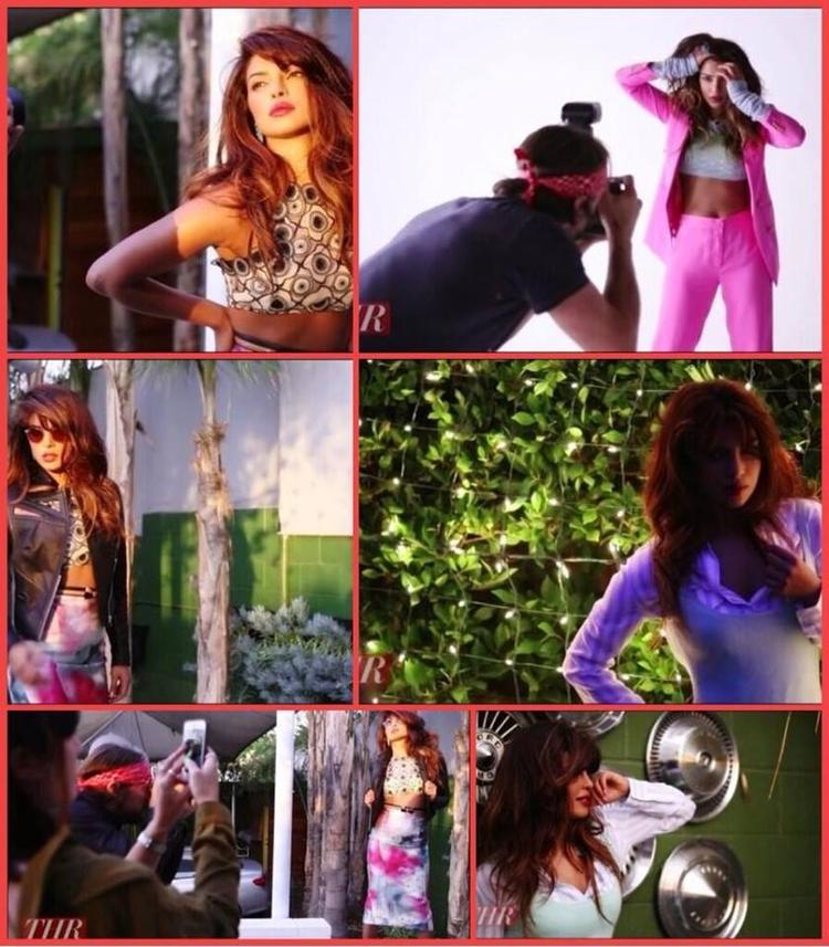 Priyanka Chopra In Different Pose For The Hollywood Reporter Magazine