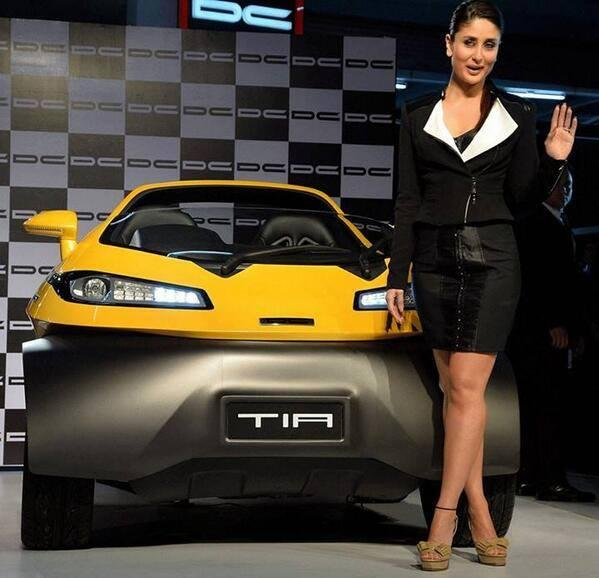 Actress Kareena Kapoor At The Unveiling Of Tia At Auto Expo 2014
