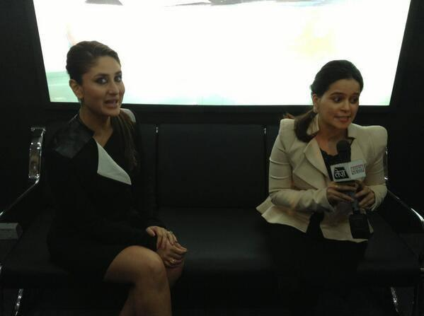 Kareena Kapoor Interact With Media At The Unveiling Of Tia At Auto Expo 2014