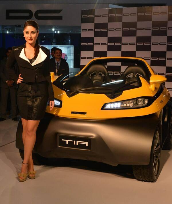Kareena Kapoor Launches 2014 12th Auto Expo