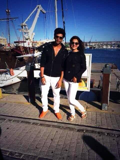 Gauhar Khan And Boyfriend Kushal Tandon Were Snapped Having A Good Time In Cape Town
