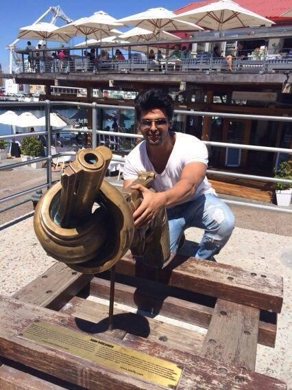 TV Serial Star Kushal Tandon Fun Times In Cape Town
