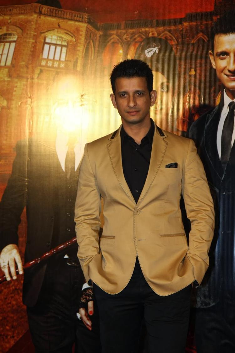 Actor Sharman Joshi During The Trailer Launch Of Film Gang Of Ghosts In Mumbai