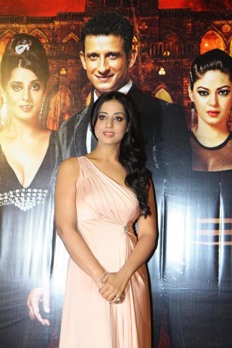 Beautiful Mahi Gill At Gang Of Ghosts Trailer Launch
