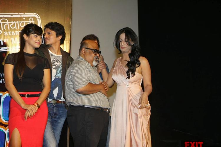 Mahi Gill And Meera Chopra Attend The Trailer Launch Of Film Gang Of Ghosts
