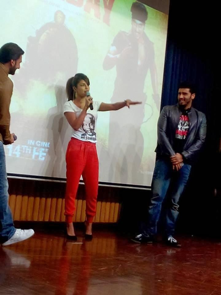 Priyanka Chopra In Stella McCartney During The Gunday Promotion