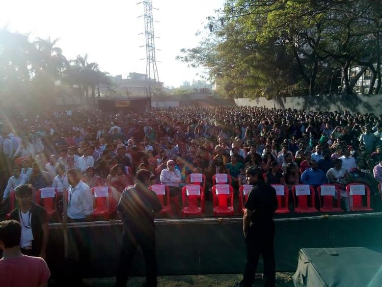 Welingkar College Enjoying And Fun With Gunday Cast