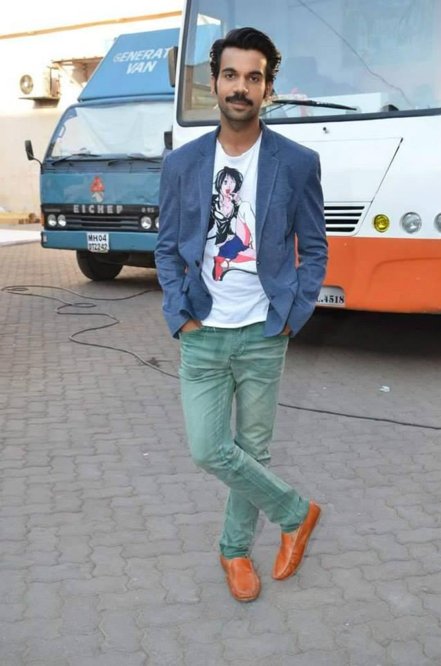 Rajkummar Rao Spotted Promoting Their Film Queen In Mumbai