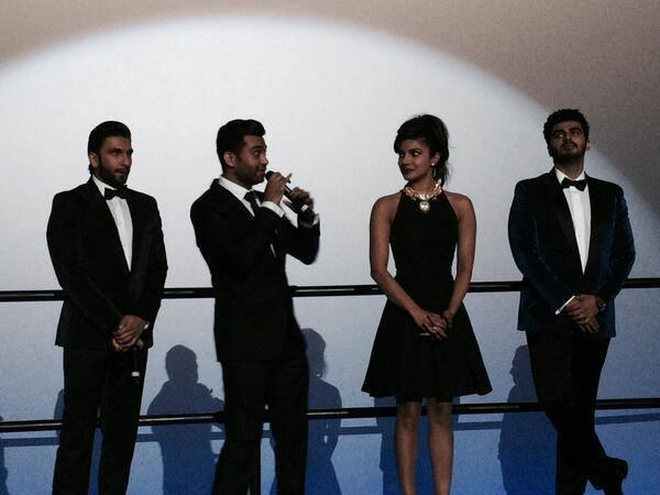 Cast And Crew In Dubai For The World Premiere Of The Latest Yash Raj Films Release Gunday