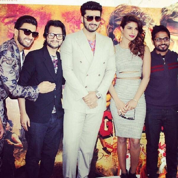 The Trio Of Bollywood Stars Was In Dubai For The World Premiere Of The Latest Yash Raj Films Release Gunday