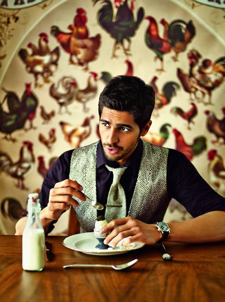 Bollywood Heartthrob Sidharth On The Cover Of GQ India 2014 Issue