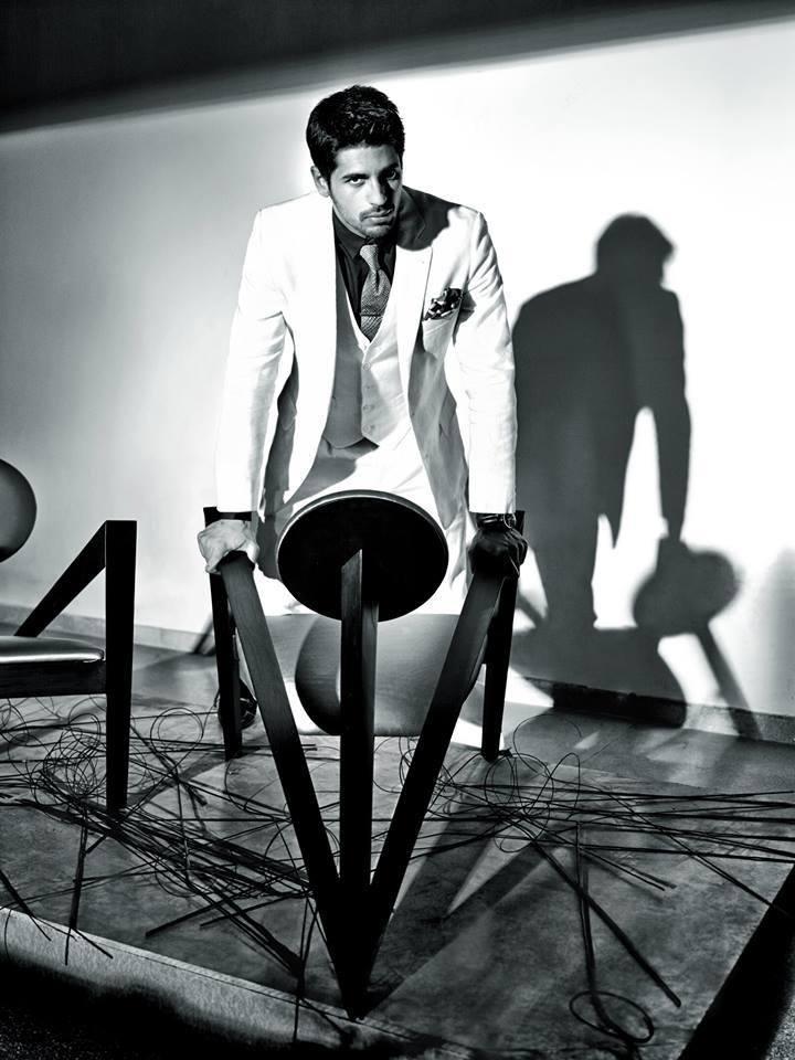 Sidharth Malhotra Latest Photo Shoot For GQ Magazine 2014 Feb Issue