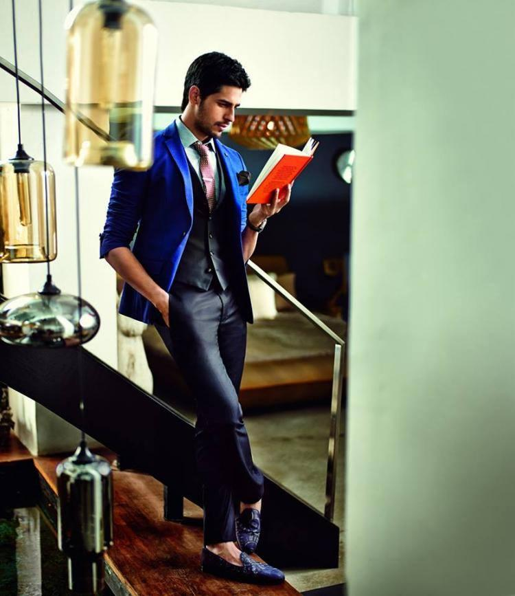 Very Handsome Sidharth Strikes A Awesome Pose For GQ Magazine 2014