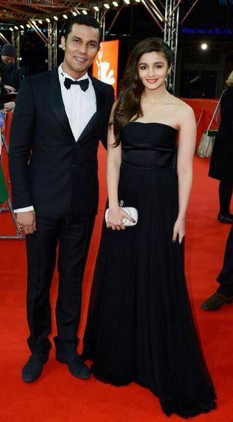 Highway Couple Alia And Randeep Spotted At Highway' Premiere At Berlinale Film Festival