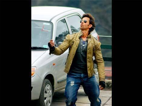 Hrithik Roshan Cool Stylish Look On The Sets Of Bang Bang Movie In Shimla