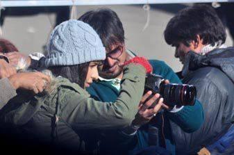 Katrina Kaif Sees The Camera On The Sets Of Bang Bang Movie In Shimla