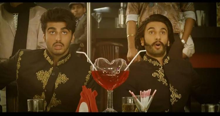 Arjun Kapoor And Ranveer Singh In Asalaam-E-Ishqum Song From Gunday Movie
