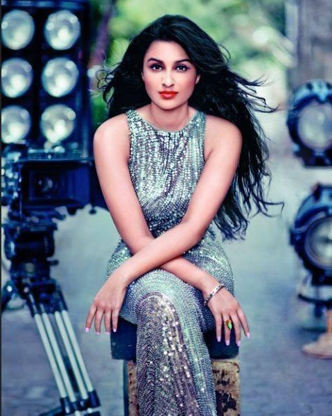 Gifted And Unguarded Parineeti Chopra Gorgeous Red Lips Look On Vogue India February 2014 Issue