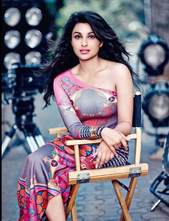 Parineeti Chopra Poses Sensuously For Vogue India February 2014 Issue