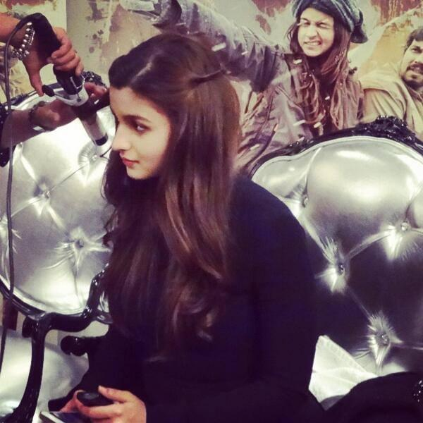 Alia Bhatt During The Promotion Of Highway In London
