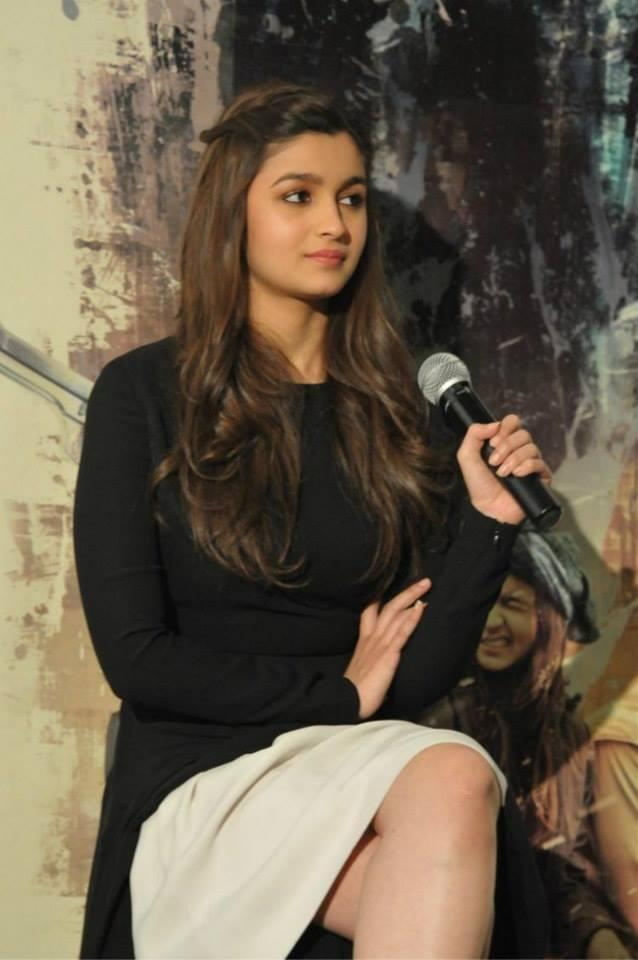 Alia Bhatt Interact With UK Media During Promotion Of Highway