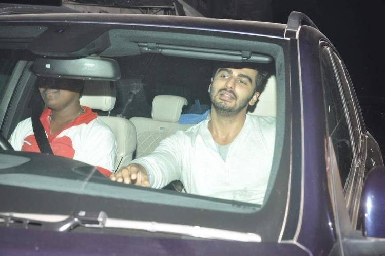 Arjun Snapped At Chandan Theatre To Promote Gunday