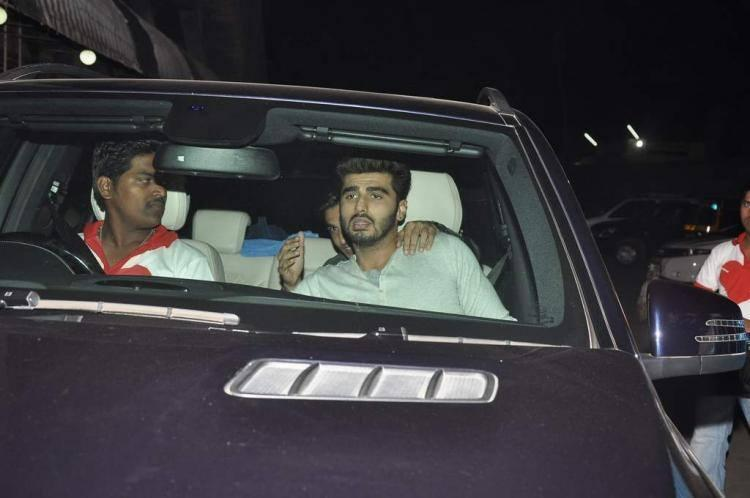 Ranveer and Arjun Visit Chandan Theatre To Promote Gunday